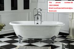 freestanding bathroom cast iron tub with clawfoot CE&CUPC