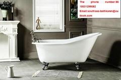 high quality bathroom cheap CE&CUPC freestanding tub with four legs