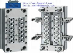 DDW Pneumatic Valve Gate PET Preforms tools for Mineral water Soft drinks pack