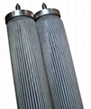 Stainless steel sintered folding filter