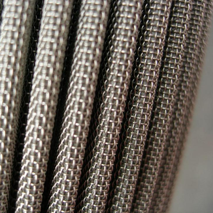 Stainless steel sintered folding filter elements 2