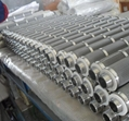 Stainless steel sintered folding filter elements 5