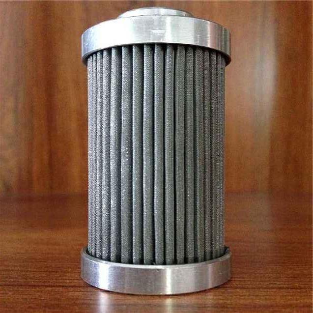 customized Stainless Steel 316L pleated sintered fiber felt filter 2