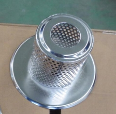 customized Sintered Filter Elements / Filter Baskets and Cup Filter for differen