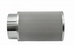 multilayer sintered stainless steel filter disc for drug dryer