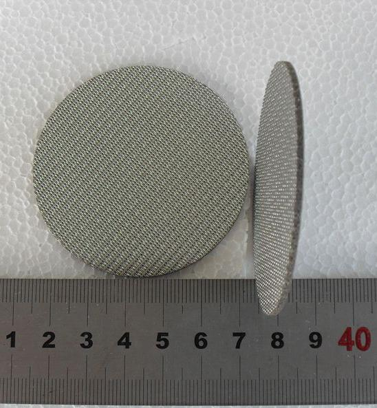 customized stainless steel Multi-layer sintered metal wire mesh filter 3