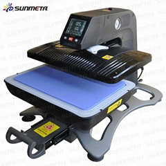 Heat press machin automatic 3D all in one Heat transfer sublimation Machine