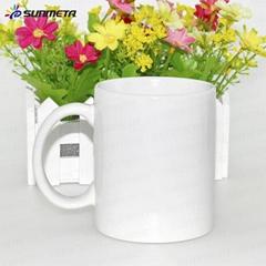 factory supply sublimation photo cup 11oz blank white ceramic sublimation mug