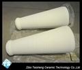 Alumina cone-shaped tube