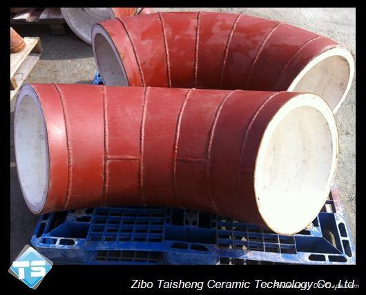 Alumina ceramic elbow 2