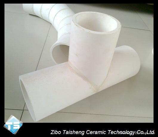 Alumina ceramic elbow 3
