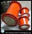 Alumina ceramic elbow 4