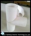 Alumina ceramic elbow 5
