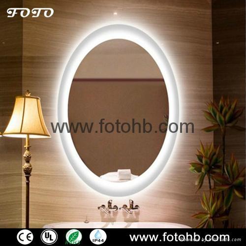 LED Backlit Mirror for Luxury Hotel Bathroom 1