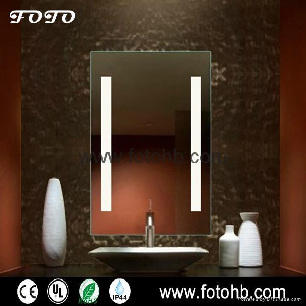 IP44 Waterproof Bathroom Mirror with LED Lighting 1