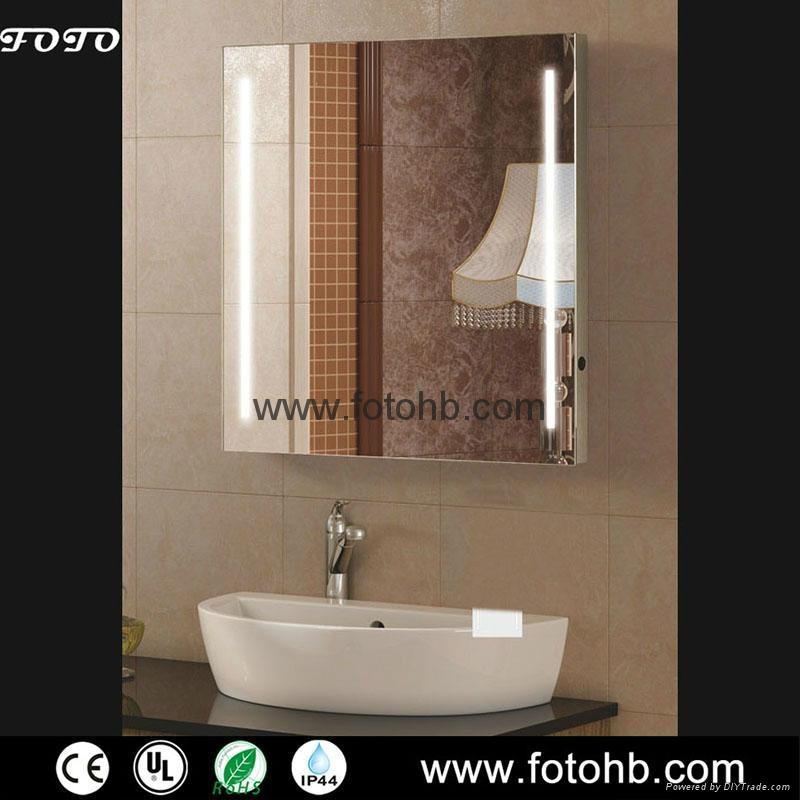 IP44 Waterproof Bathroom Mirror with LED Lighting 2