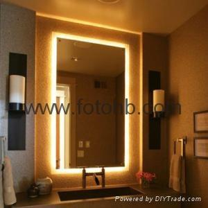 Luxury Hotel Bath Mirror with LED Backlight  1