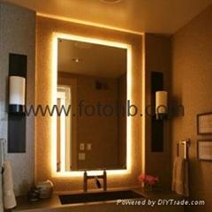 Luxury Hotel Bath Mirror with LED Backlight