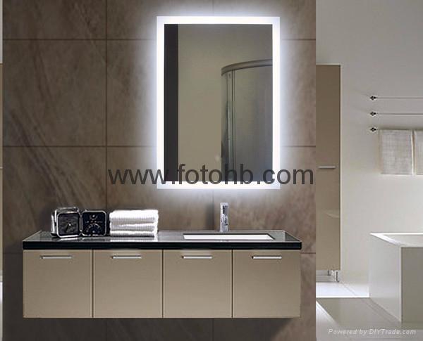 Luxury Hotel Bath Mirror with LED Backlight  2