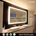 Luxury Hotel Bath Mirror with LED Backlight  4