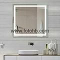 CE/UL/IP44 LED Backlit Illuminated Bathroom Mirror 1