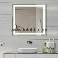 CE/UL/IP44 LED Backlit Illuminated Bathroom Mirror