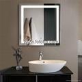 CE/UL/IP44 LED Backlit Illuminated Bathroom Mirror 2