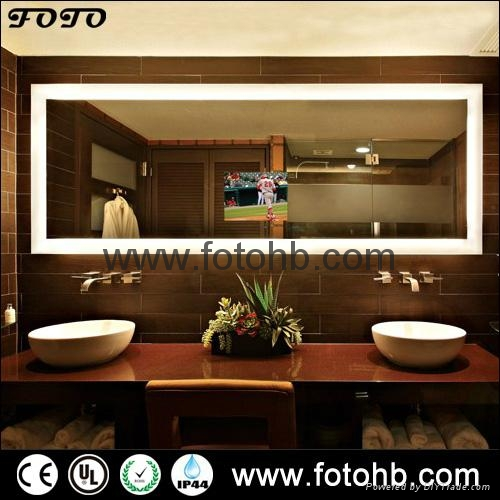 TV Mirror with LED Lighting for Luxury Hotel 1