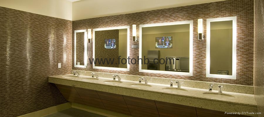 TV Mirror with LED Lighting for Luxury Hotel 4