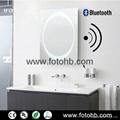 Bluetooth Mirror with LED Illuminated