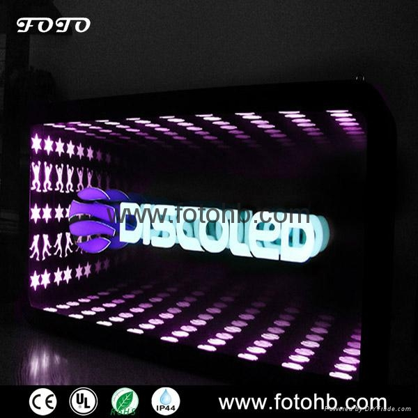 LED Infinity Mirror for Luxury Hotel Decoration 1