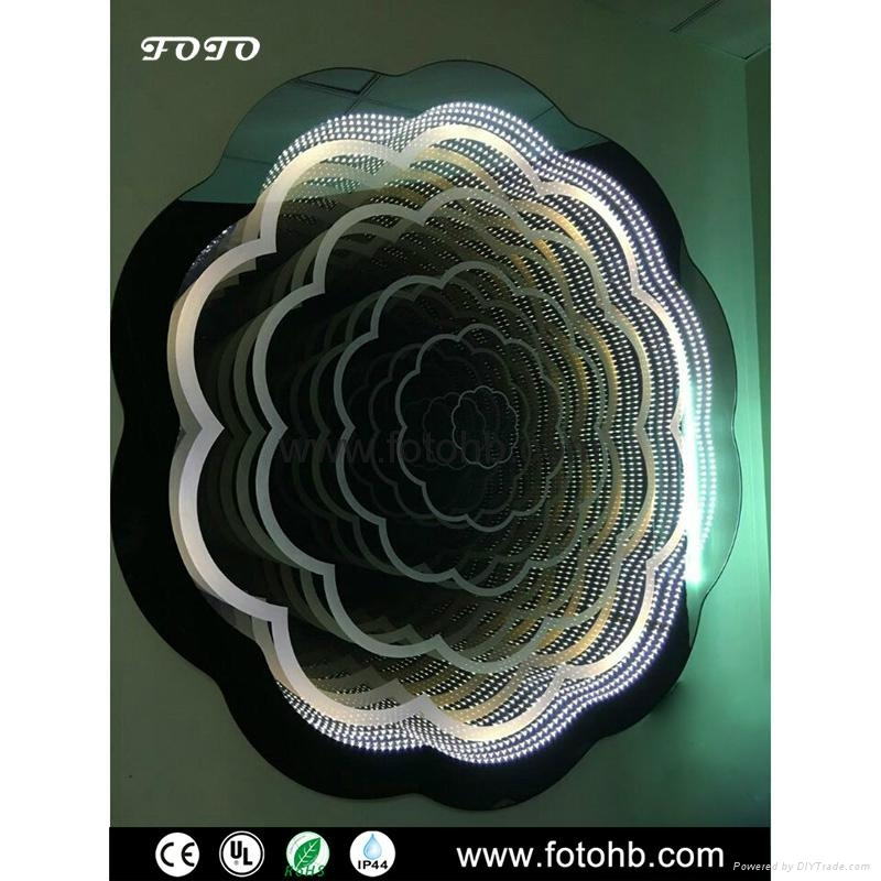 LED Infinity Mirror for Luxury Hotel Decoration 5