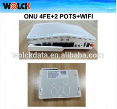 High Quality 4fe+pot+wifi epon onu