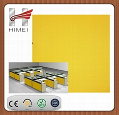 PVC film laminate steel sheet for office partition