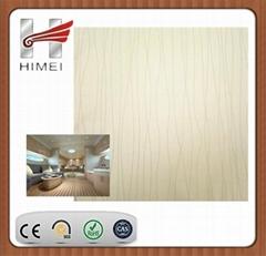 PVClaminatingmetalsheet for ship decoration