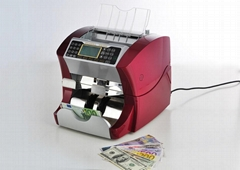 DB3000 Front loading system Money counter