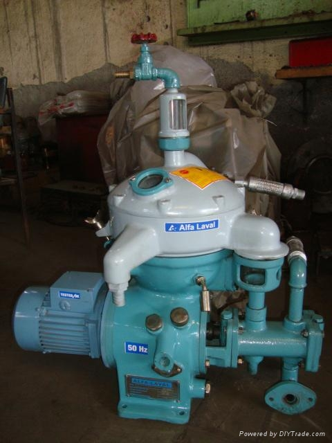Alfa Laval industrial centrifuge separator  1
