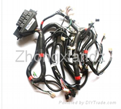 Automotive cotrol harness