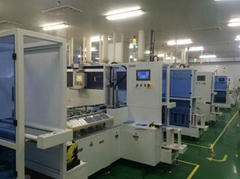 Solar cell automation make ve  et etching blanking equipment cleaning