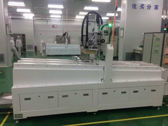 中國太陽能電池石英墨舟自動化擴散上/下料機集團 5