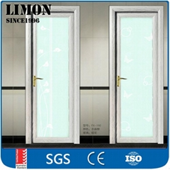 Automatic aluminum sliding glass door for living room