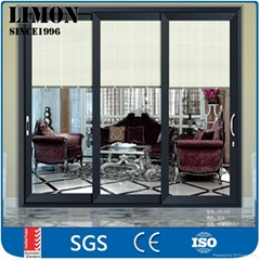 Wholesale waterproof aluminium sliding glass doors for bathrooms with Cheap pric