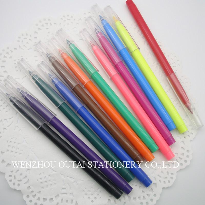 Water Color Pen Colorful 12pcs Art Marker kids drawing  4