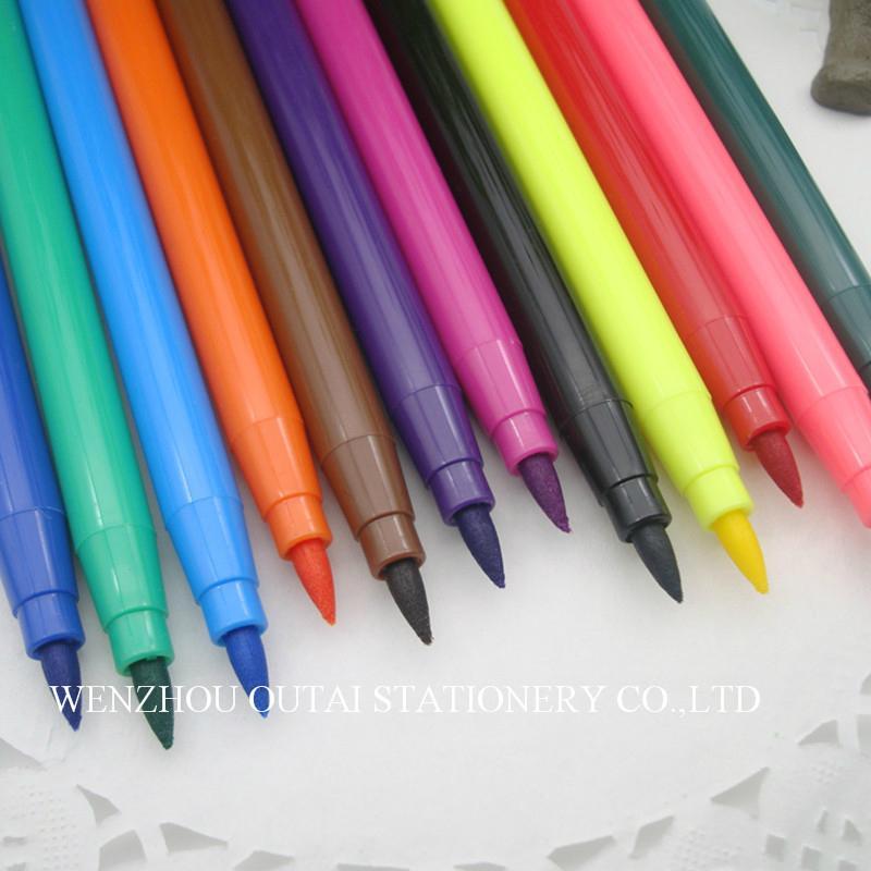 Water Color Pen Colorful 12pcs Art Marker kids drawing  5