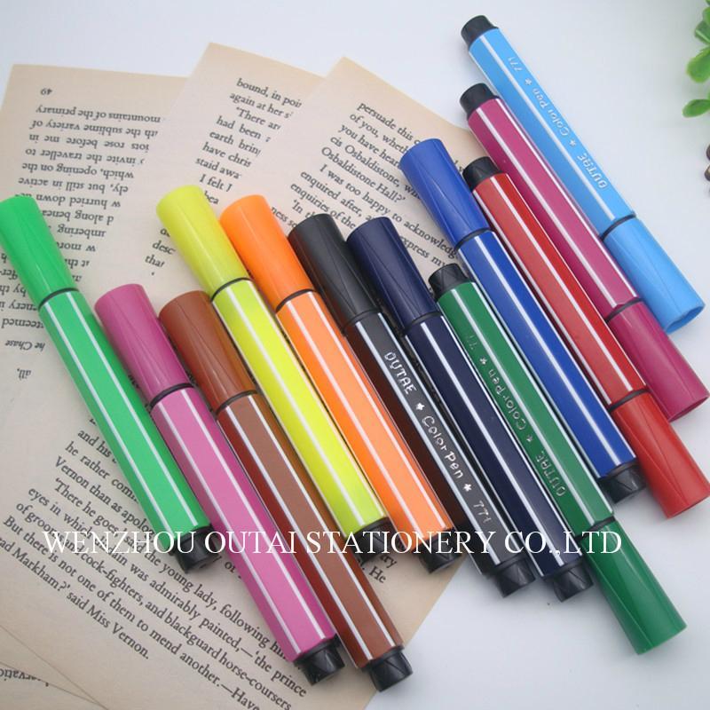 Water Color Pen 12pcs Art Marker Water Color Pen Set For Kids Drawing 5