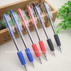 Plastic Click Pen retractable ballpoint pen OT-306-B