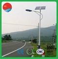 ISO9001 Verified 6m 30W Waterproof Solar