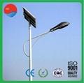 7m 36W IP65 RoHS Solar Street Light 24V