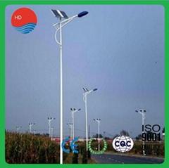 China Factory Price 12m 100W CCC IP65 Street Solar Lamp
