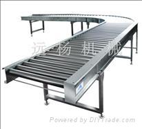 Stepless speed adjustment conveyor